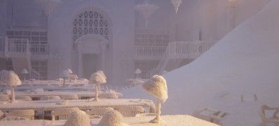 """""""The day after tomorrow"""" ice wax and display snow"""
