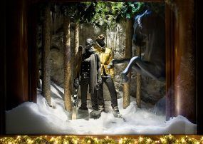 Ralph Lauren – Display Snow